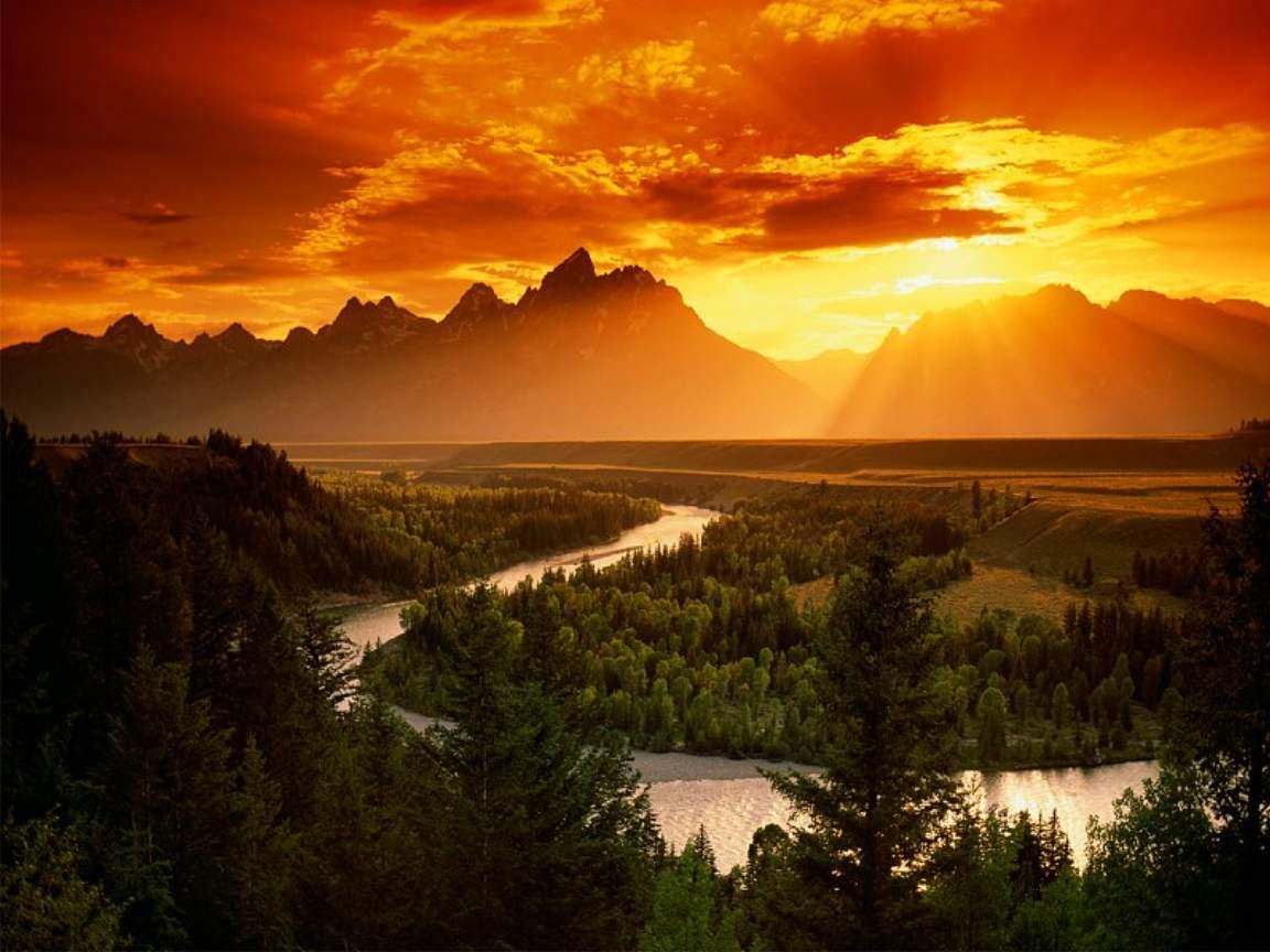 Grand Tetons Snake River